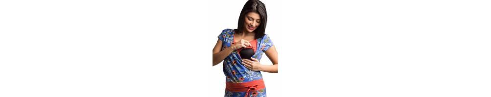 Vestidos de lactancia y embarazo de verano. Tienda online Baby Tarta